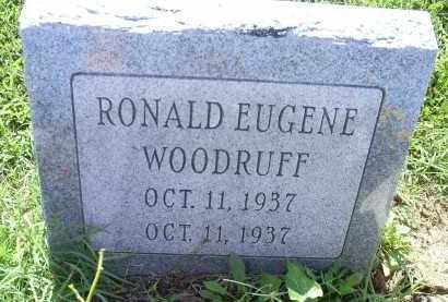 WOODRUFF, RONALD EUGENE - Ross County, Ohio   RONALD EUGENE WOODRUFF - Ohio Gravestone Photos