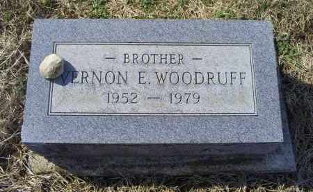 WOODRUFF, VERNON E. - Ross County, Ohio | VERNON E. WOODRUFF - Ohio Gravestone Photos
