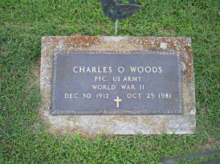 WOODS, CHARLES O. - Ross County, Ohio | CHARLES O. WOODS - Ohio Gravestone Photos