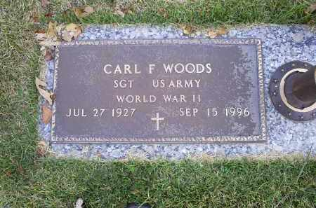 WOODS, CARL F. - Ross County, Ohio | CARL F. WOODS - Ohio Gravestone Photos