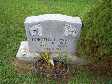 WOODS, DOROTHY E. - Ross County, Ohio | DOROTHY E. WOODS - Ohio Gravestone Photos