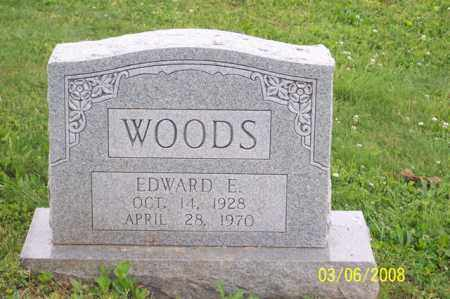WOODS, EDWARD E. - Ross County, Ohio | EDWARD E. WOODS - Ohio Gravestone Photos