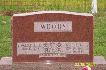 WOODS, NICOLA K. - Ross County, Ohio | NICOLA K. WOODS - Ohio Gravestone Photos