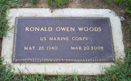 WOODS, RONALD OWEN - Ross County, Ohio | RONALD OWEN WOODS - Ohio Gravestone Photos