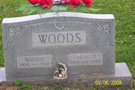 WOODS, WALTER - Ross County, Ohio | WALTER WOODS - Ohio Gravestone Photos