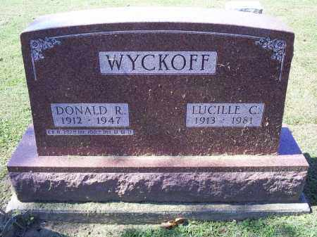 WYCKOFF, DONALD R. - Ross County, Ohio | DONALD R. WYCKOFF - Ohio Gravestone Photos