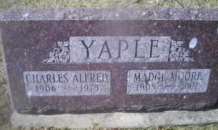 YAPLE, CHARLES ALFRED - Ross County, Ohio | CHARLES ALFRED YAPLE - Ohio Gravestone Photos