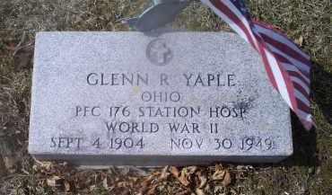 YAPLE, GLENN R. - Ross County, Ohio | GLENN R. YAPLE - Ohio Gravestone Photos
