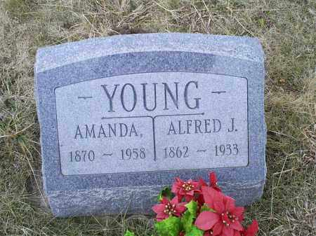 YOUNG, ALFRED J. - Ross County, Ohio | ALFRED J. YOUNG - Ohio Gravestone Photos