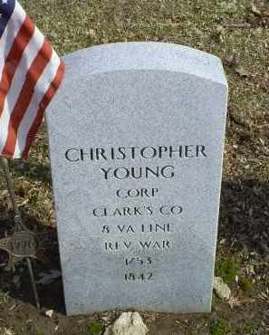 YOUNG, CHRISTOPHER - Ross County, Ohio | CHRISTOPHER YOUNG - Ohio Gravestone Photos
