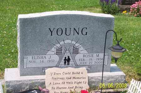 DETTY YOUNG, ROSIE M. - Ross County, Ohio | ROSIE M. DETTY YOUNG - Ohio Gravestone Photos
