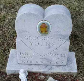 YOUNG, GREGORY R. - Ross County, Ohio | GREGORY R. YOUNG - Ohio Gravestone Photos