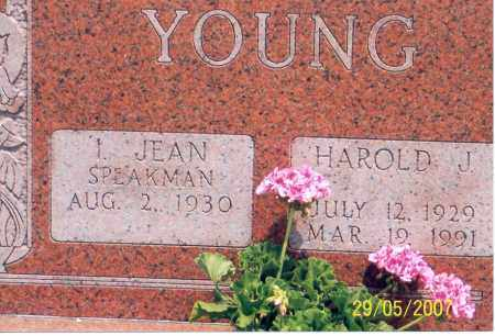 YOUNG, I. JEAN - Ross County, Ohio | I. JEAN YOUNG - Ohio Gravestone Photos
