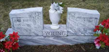 YOUNG, JAMES MANDER - Ross County, Ohio | JAMES MANDER YOUNG - Ohio Gravestone Photos