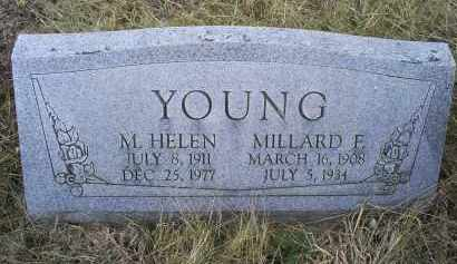 YOUNG, MILLARD E. - Ross County, Ohio | MILLARD E. YOUNG - Ohio Gravestone Photos