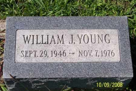 YOUNG, WILLIAM J. - Ross County, Ohio | WILLIAM J. YOUNG - Ohio Gravestone Photos