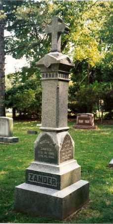 BETSCH ZANDER, ANNA KATHERINA - Ross County, Ohio | ANNA KATHERINA BETSCH ZANDER - Ohio Gravestone Photos