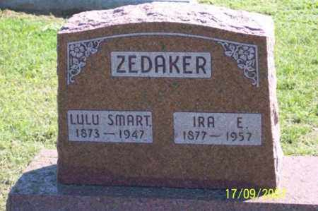 ZEDAKER, IRA E. - Ross County, Ohio | IRA E. ZEDAKER - Ohio Gravestone Photos