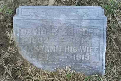 ZEIGLER, DAVID B. - Ross County, Ohio | DAVID B. ZEIGLER - Ohio Gravestone Photos