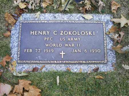 ZOKOLOSKI, HENRY C. - Ross County, Ohio | HENRY C. ZOKOLOSKI - Ohio Gravestone Photos