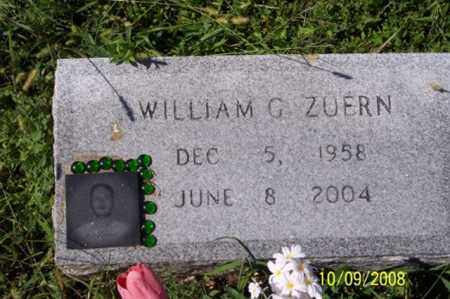 ZUERN, WILLIAM G. - Ross County, Ohio | WILLIAM G. ZUERN - Ohio Gravestone Photos