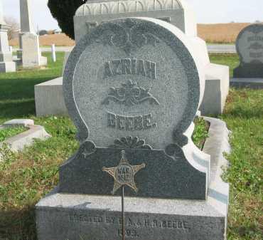 BEEBE, AZRIAH - Sandusky County, Ohio | AZRIAH BEEBE - Ohio Gravestone Photos