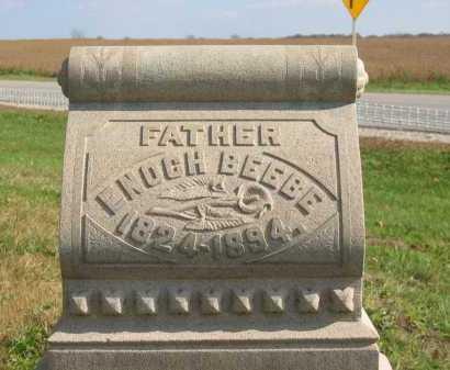 BEEBE, ENOCH - Sandusky County, Ohio | ENOCH BEEBE - Ohio Gravestone Photos