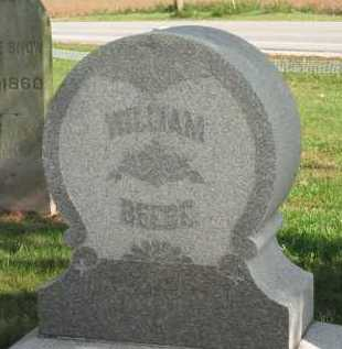 BEEBE, WILLIAM - Sandusky County, Ohio | WILLIAM BEEBE - Ohio Gravestone Photos