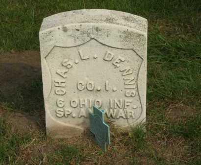 DENNIS, CHARLES  L. - Sandusky County, Ohio | CHARLES  L. DENNIS - Ohio Gravestone Photos