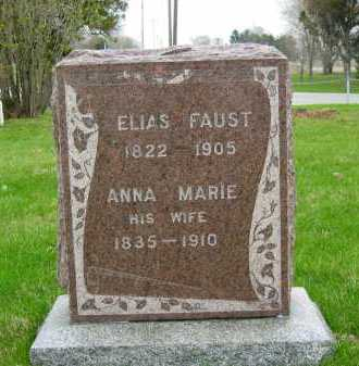 FAUST, ELIAS - Sandusky County, Ohio | ELIAS FAUST - Ohio Gravestone Photos
