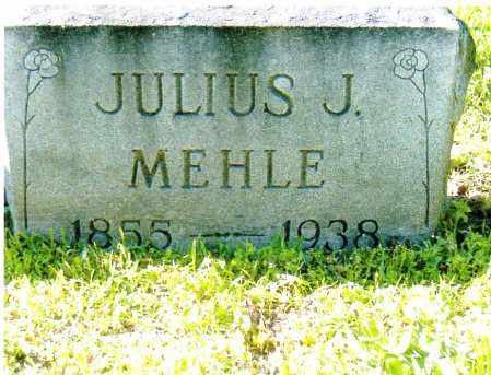 MEHLE, JULIUS J. - Sandusky County, Ohio | JULIUS J. MEHLE - Ohio Gravestone Photos