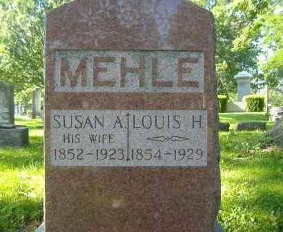 MEHLE, SUSAN A. - Sandusky County, Ohio | SUSAN A. MEHLE - Ohio Gravestone Photos