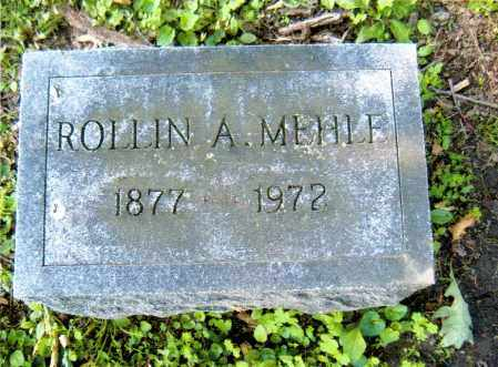 MEHLE, ROLLIN ALBERT - Sandusky County, Ohio | ROLLIN ALBERT MEHLE - Ohio Gravestone Photos
