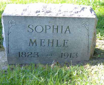 SCHMIDT MEHLE, SOPHIA - Sandusky County, Ohio | SOPHIA SCHMIDT MEHLE - Ohio Gravestone Photos