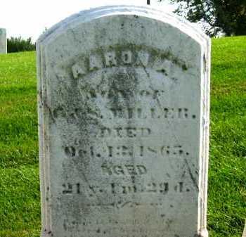 MILLER, AARON A. - Sandusky County, Ohio | AARON A. MILLER - Ohio Gravestone Photos