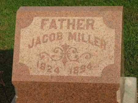 MILLER, JACOB - Sandusky County, Ohio | JACOB MILLER - Ohio Gravestone Photos