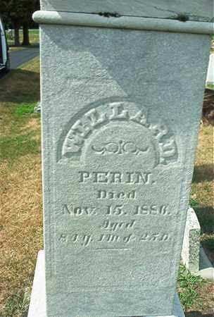 PERIN, WILLARD - Sandusky County, Ohio | WILLARD PERIN - Ohio Gravestone Photos