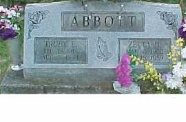 ABBOTT, ZETTA H. - Scioto County, Ohio | ZETTA H. ABBOTT - Ohio Gravestone Photos