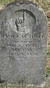 ABSHIER, JAMES - Scioto County, Ohio | JAMES ABSHIER - Ohio Gravestone Photos