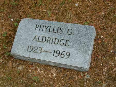 ALDRIDGE, PHYLLIS G - Scioto County, Ohio | PHYLLIS G ALDRIDGE - Ohio Gravestone Photos