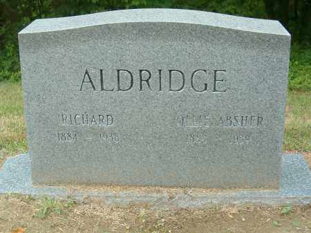 ALDRIDGE, RICHARD - Scioto County, Ohio | RICHARD ALDRIDGE - Ohio Gravestone Photos