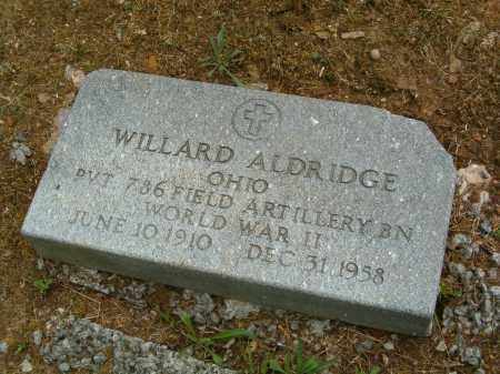 ALDRIDGE, WILLARD - Scioto County, Ohio | WILLARD ALDRIDGE - Ohio Gravestone Photos