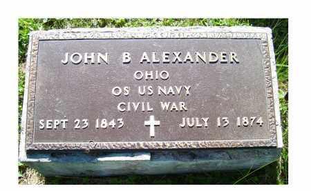 ALEXANDER, JOHN B. - Scioto County, Ohio | JOHN B. ALEXANDER - Ohio Gravestone Photos