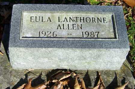 ALLEN, EULA - Scioto County, Ohio | EULA ALLEN - Ohio Gravestone Photos