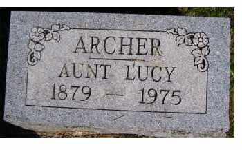 ARCHER, AUNT LUCY - Scioto County, Ohio | AUNT LUCY ARCHER - Ohio Gravestone Photos