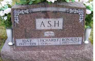 ASH, RONALD L. - Scioto County, Ohio | RONALD L. ASH - Ohio Gravestone Photos