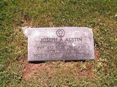 AUSTIN, JOSEPH  A - Scioto County, Ohio | JOSEPH  A AUSTIN - Ohio Gravestone Photos