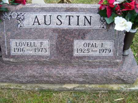 AUSTIN, LOVELL F. - Scioto County, Ohio | LOVELL F. AUSTIN - Ohio Gravestone Photos