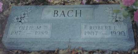BACH, ROBERT E. - Scioto County, Ohio | ROBERT E. BACH - Ohio Gravestone Photos
