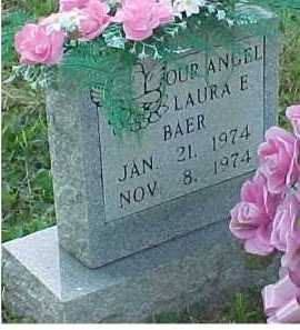 BAER, LAURA E. - Scioto County, Ohio | LAURA E. BAER - Ohio Gravestone Photos